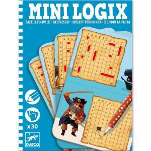 Djeco - DJ05355 - Mini logix  Bataille navale (330924)