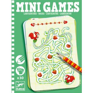 Djeco - DJ05324 - Mini Games -  Les labyrinthes d'Ariane (330946)