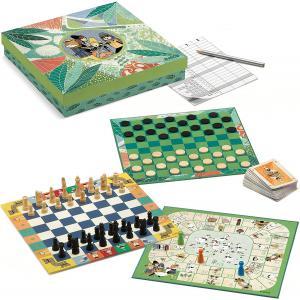 Djeco - DJ05219 - Jeux classiques -  Classic box 6+ * (330966)
