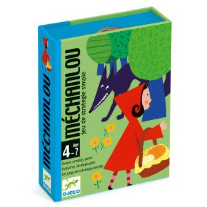 Djeco - DJ05126 - Jeu de cartes - Méchanlou (331032)