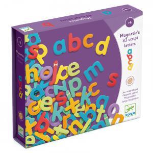 Djeco - DJ03102 - Magnétiques bois -  83 script letters (331066)