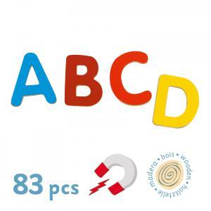 Djeco - DJ03101 - Magnétiques bois -  83 small letters * (331068)
