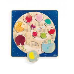 Djeco - DJ01806 - Puzzles éducatif bois - Ludi & Co (331120)