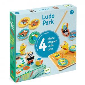 Djeco - DJ01698 - Jeux éducatifs bois  -  LudoPark - 4 games (331130)