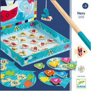 Djeco - DJ01688 - Premiers apprentissages - Navy-loto (331150)