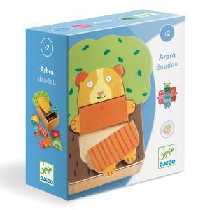 Djeco - DJ01681 - Puzzles bois -  Arbra doudou (331158)