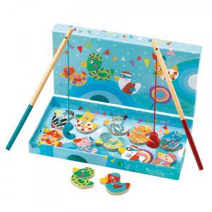Djeco - DJ01654 - Jeu de pêches magnétique Fishing Duck (331164)