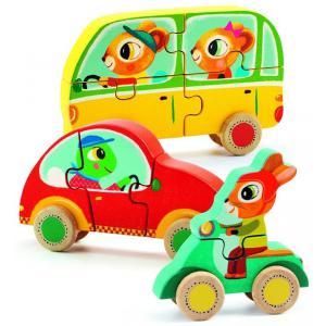 Djeco - DJ01250 - Puzzles bois - Jako & Co (331192)
