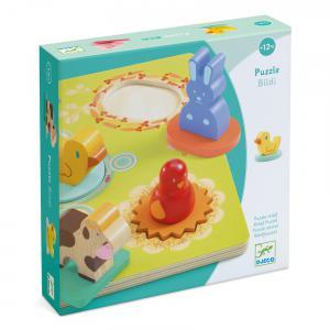 Djeco - DJ01030 - Puzzles relief -  Bildi* (331228)