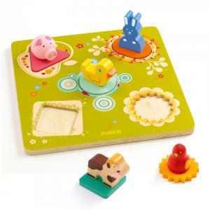 Djeco - DJ01030 - Puzzle relief  Bildi (331228)