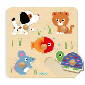 Djeco - DJ01019 - Puzzles gros boutons - Bulle & Co (331230)