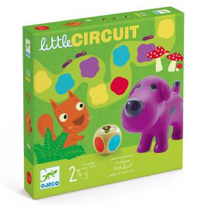 Djeco - DJ08550 - Jeu des tout petits - Little circuit (331266)