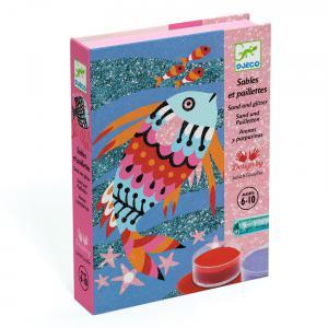 Djeco - DJ08661 - Sables colorés - arcs-en-ciel de poissons (331356)