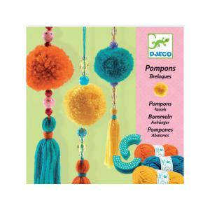 Djeco - DJ08854 - Pompons breloques* (331420)