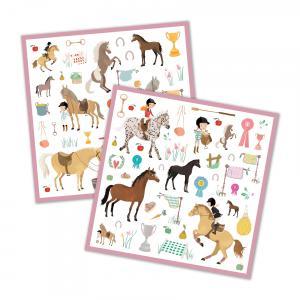 Djeco - DJ08881 - Stickers - Les chevaux (331446)