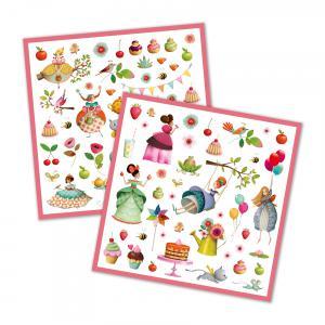Djeco - DJ08884 - Stickers - Le goûter des princesses (331450)