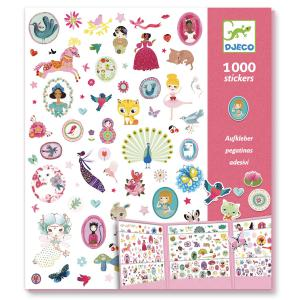 Djeco - DJ08951 - Stickers - 1000 stickers - sweet (331490)
