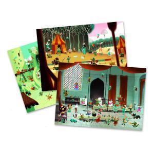 Djeco - DJ09561 - Décalcos - Petites hisoires au Moyen Age (331580)
