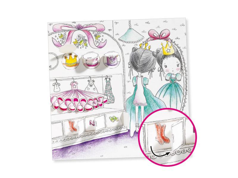 Djeco coloriages surprises les petites portes de pupi - Djeco coloriage ...