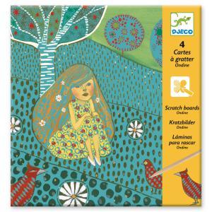 Djeco - DJ09722 - Cartes à gratter  - Ondine (331698)