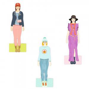 Djeco - DJ09825 - Papier créatif - Le grand dressing (331836)