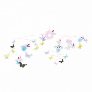Djeco - DD04320 - Mobiles papier  Ronde des papillons (332122)