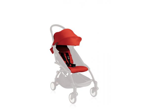 babyzen pack couleur 6 rouge pour poussette yoyo. Black Bedroom Furniture Sets. Home Design Ideas