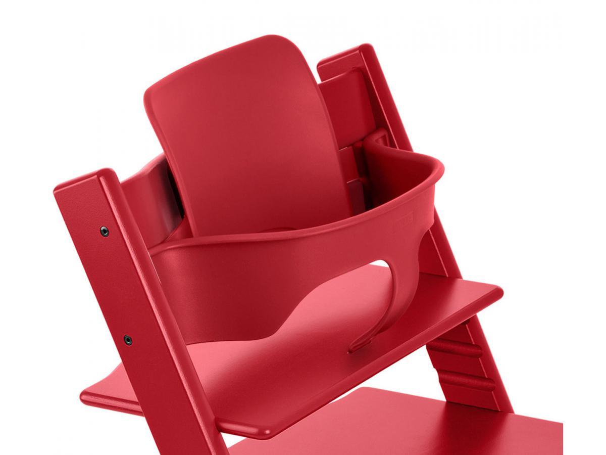 Stokke chaise haute tripp trapp rouge for Chaise haute stokke avis