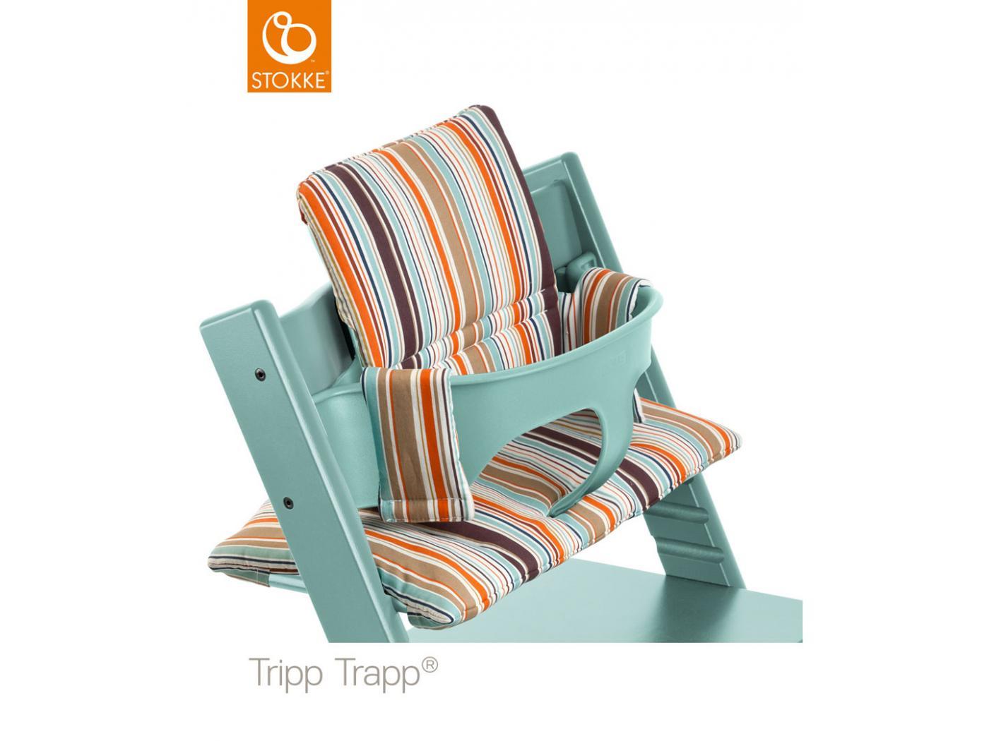 Stokke - Chaise haute Tripp Trapp Bleu Aqua