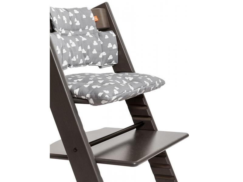 stokke chaise haute tripp trapp gris brume. Black Bedroom Furniture Sets. Home Design Ideas