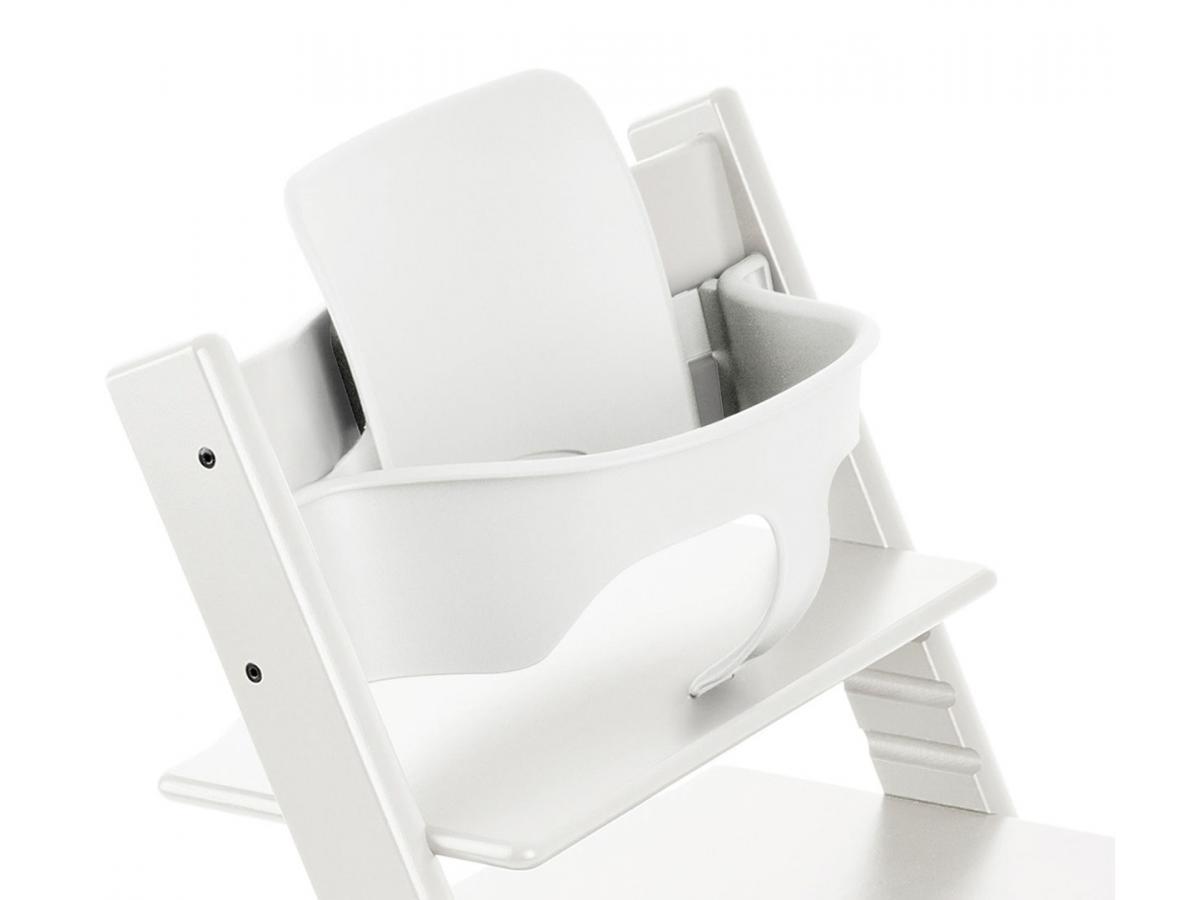 stokke accessoire baby set couleur blanc pour chaise tripp trapp. Black Bedroom Furniture Sets. Home Design Ideas