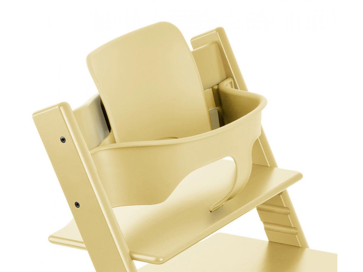 stokke accessoire baby set couleur jaune pi de bl pour chaise tripp trapp. Black Bedroom Furniture Sets. Home Design Ideas