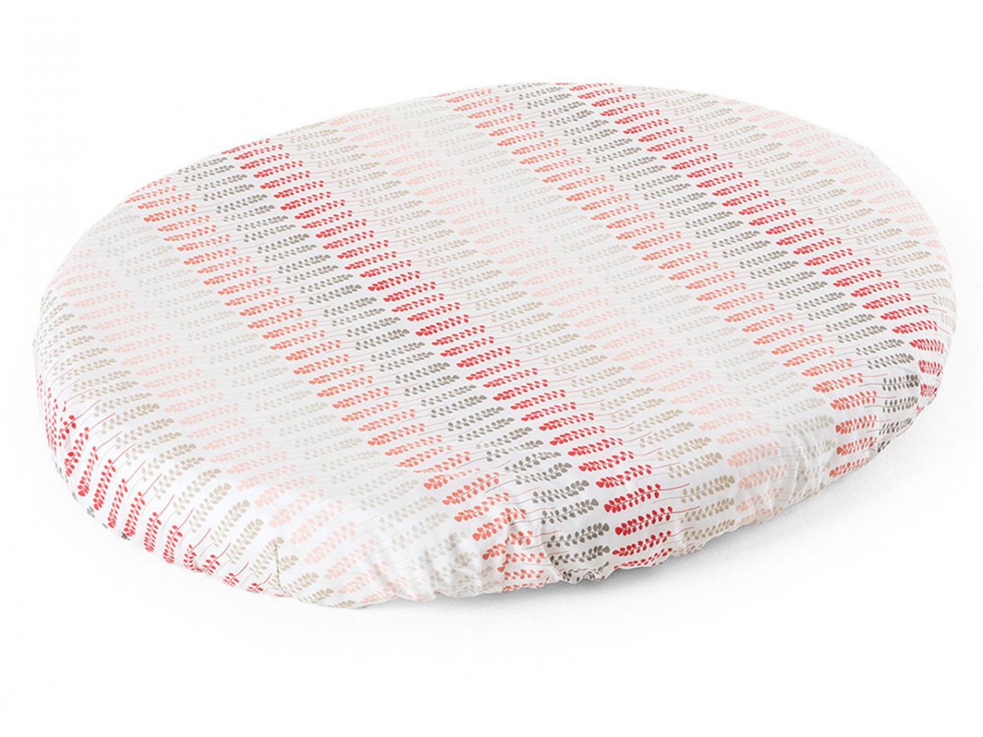 stokke drap housse pour berceau sleepi corail paille. Black Bedroom Furniture Sets. Home Design Ideas