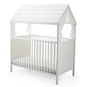 Stokke - 409001 - Habillage de toit pour lit Home Blanc (333148)