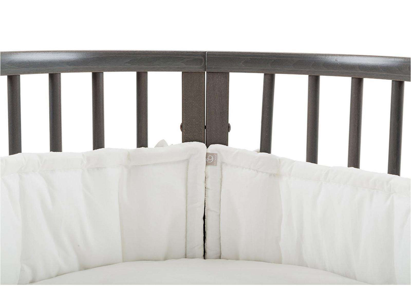 stokke sleepi tm tour de lit blanc. Black Bedroom Furniture Sets. Home Design Ideas