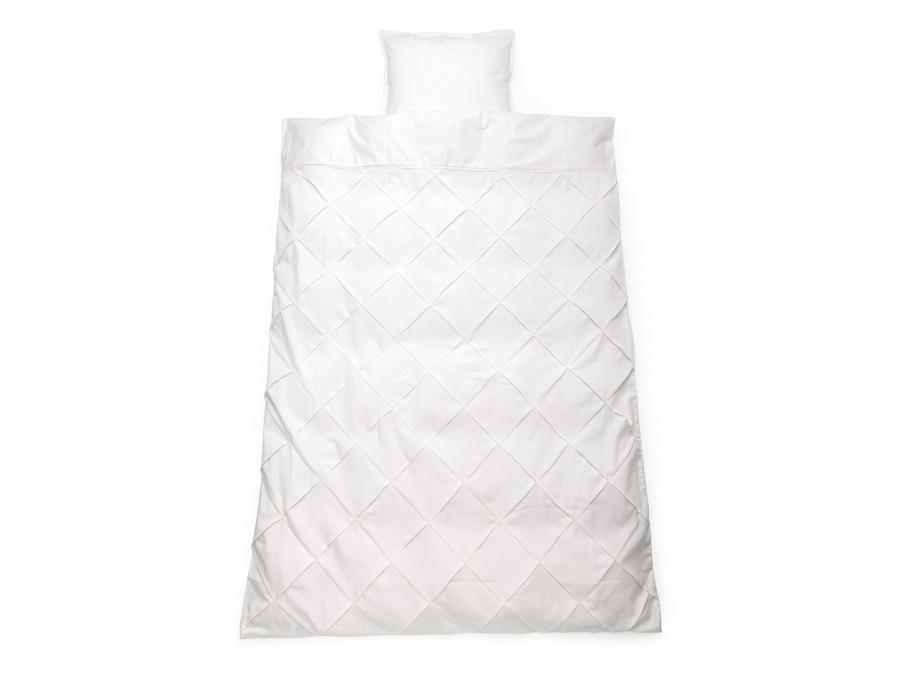 stokke sleepi housse de couette 100x135 cm taie 40x60 cm mod le classic blanc. Black Bedroom Furniture Sets. Home Design Ideas