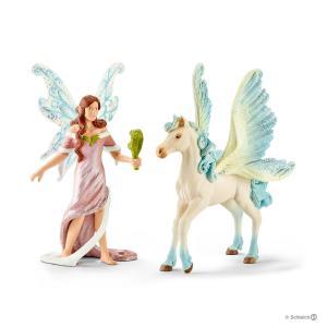 Schleich - 70539 - Figurine Safenja 15 cm x 8,2 cm x 18 cm (333296)