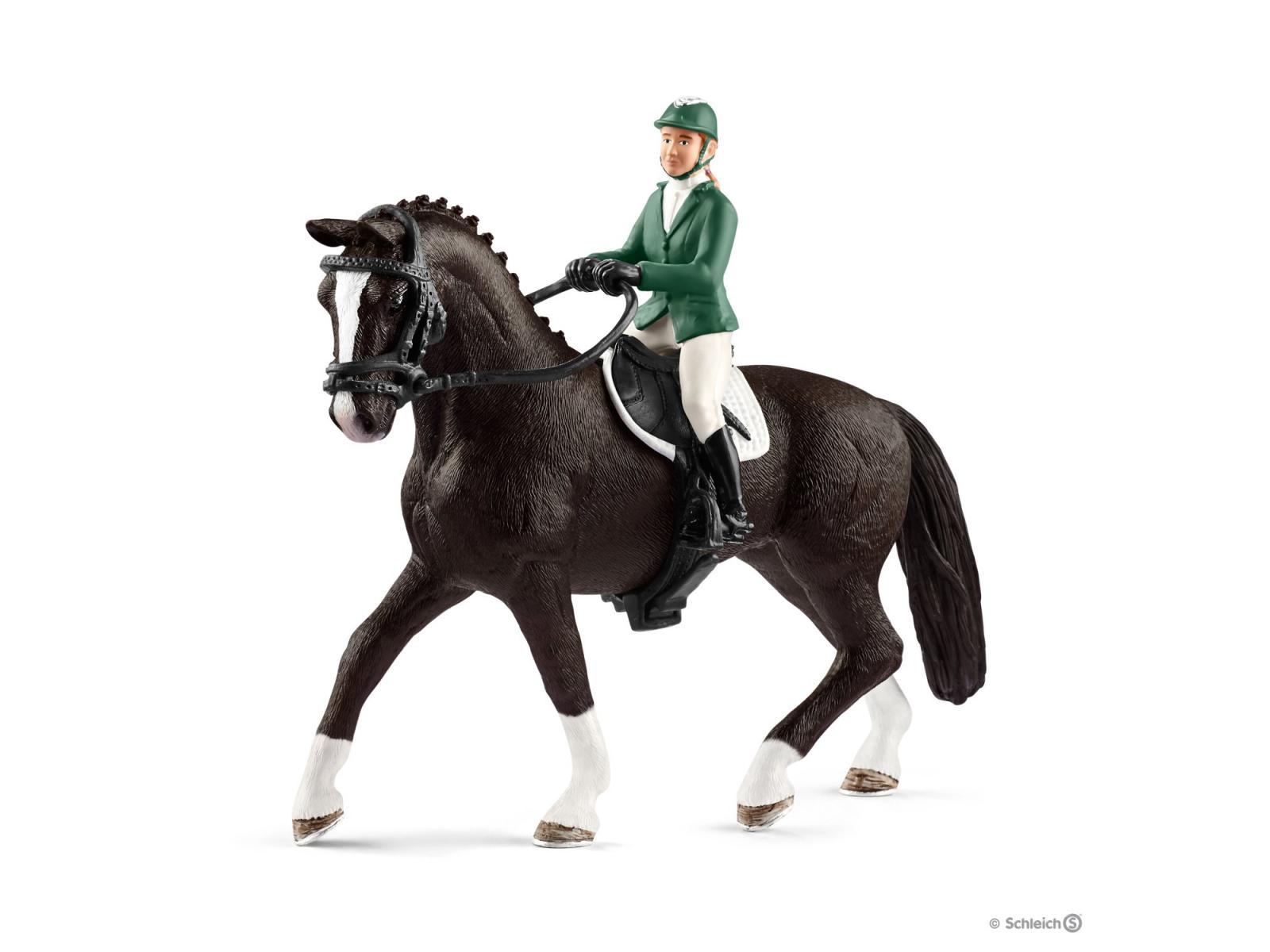 Schleich Horse Club Cavalière Concours Compétition Cheval Accessoires Equitation