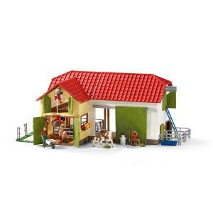 Schleich - 42333 - Grande ferme avec animaux et accessoires (333338)