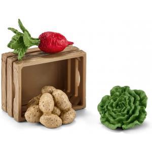Schleich - 42289 - Nourriture pour cochons et porcelets (333366)