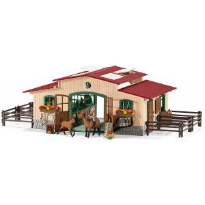 Schleich - 42195 - Écurie avec chevaux (333368)