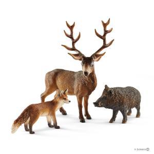 Schleich - 41458 - Habitants de la forêt Europe (333372)