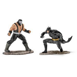 Batman - 22540 - Figurine BATMAN™ vs BANE™ - 11 cm x 19 cm x 18,5 cm (333422)