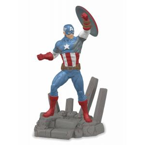Schleich - 21503 - Figurine Captain America 14 cm x 8,5 cm x 18,4 cm (333436)