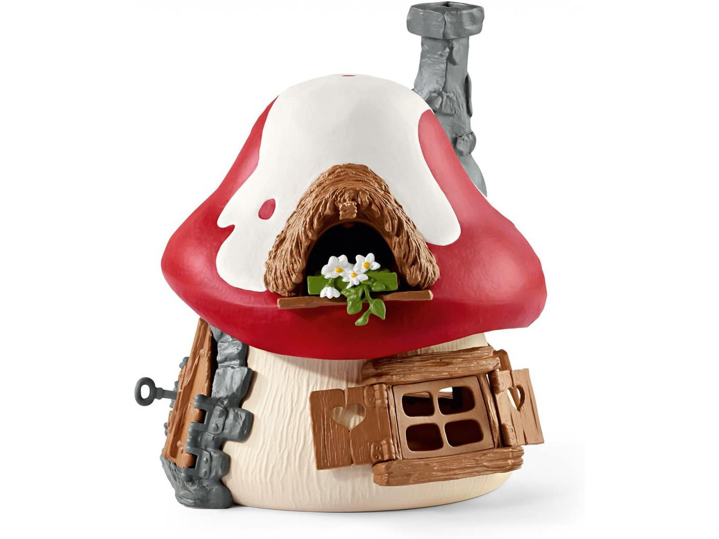 Schleich maison des schtroumpfs avec 2 figurines - Schtroumpf maison ...