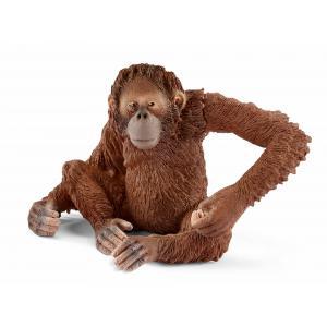 Schleich - 14775 - Figurine Orang-outan, femelle 8 cm x 6 cm x 5,5 cm (333484)