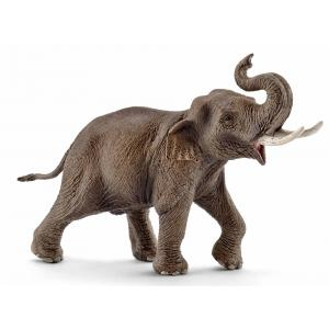 Schleich - 14754 - Figurine Eléphant d'Asie, mâle - 5,5 cm x 19,5 cm x 11,3 cm (333506)