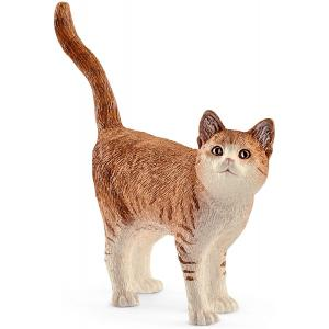 Schleich - 13836 - Figurine Chat - Dimension : 6,6 cm x 1,7 cm x 5,6 cm (333534)