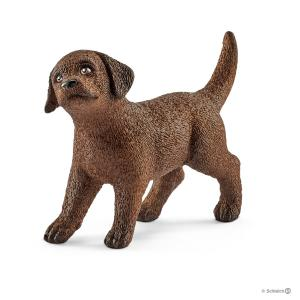 Schleich - 13835 - Figurine Chiot Labrador Retriever - Dimension : 4,9 cm x 1,6 cm x 3,4 cm (333536)