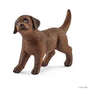 Schleich - 13835 - Figurine Chiot Labrador Retriever 4,9 cm x 1,6 cm x 3,4 cm (333536)